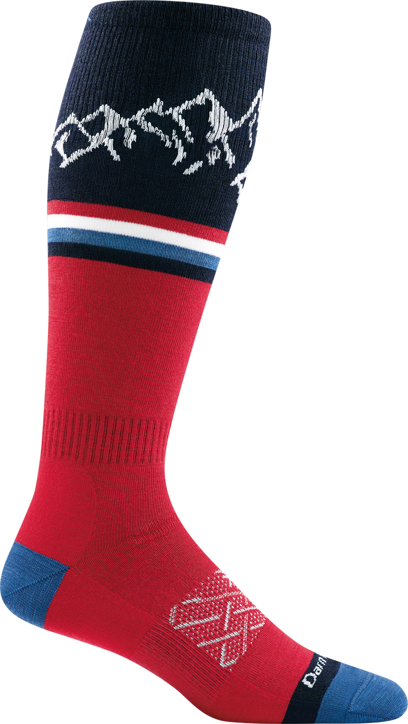 Men's Alpenglow Over-the-Calf Lightweight Ski & Snowboard Sock