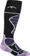 Women's Function 5 Over-the-Calf Midweight Ski & Snowboard Sock
