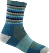 Women's Stripes Micro Crew Midweight Hiking Sock