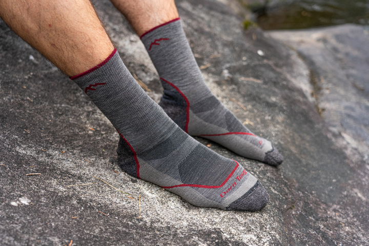 Men's Light Hiker Micro Crew Lightweight Hiking Sock