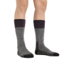 Image of a woman's legs on a white background wearing  Women's Scout Boot Midweight Hiking Socks in Plum