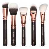 ZOEVA 15 PCS ROSE GOLD MAKEUP BRUSH SET Professional Luxury Set Make Up Tools Kit Powder Blending brushes