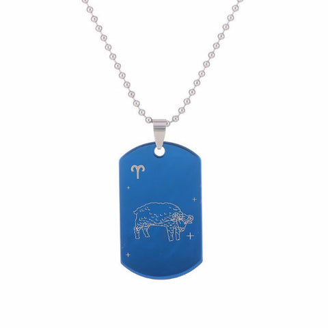 Blue Brandeis Constellation Amulet Necklace [12 variants]
