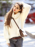 Oversized White Sweater