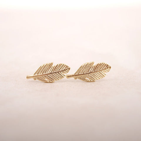 Fallen Leaves Stud Earrings for Women Vintage Leaf Earrings Gifts