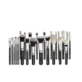 Professional 25pcs Makeup Artist Brush Set and Carry Case