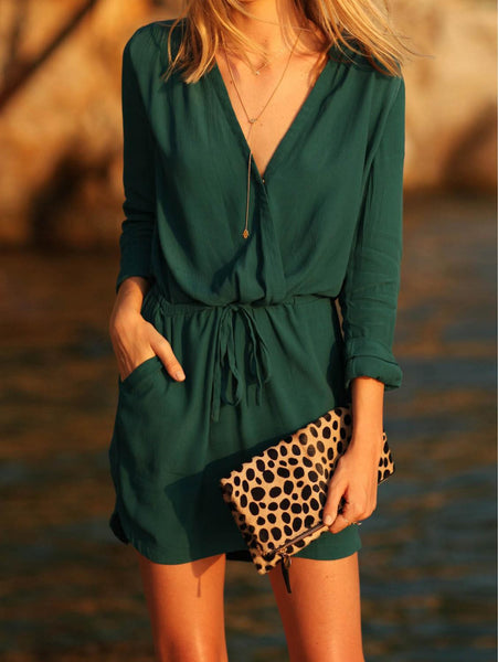 ‰ÏÀ Autumn Long Sleeve Vintage Dress Boho ‰ÏÀ