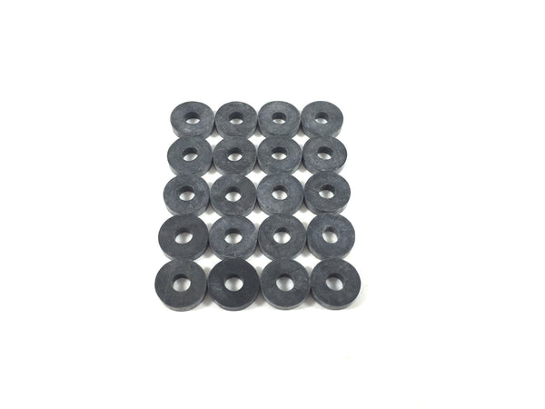 Gun Guy Gear Holster Spacers - Leathercraft & Kydex Chicago Screw - Rubber Washers (20 qty)