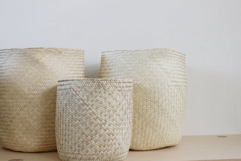 Mixta Palm Basket | 3 Sizes - Girl and the Abode