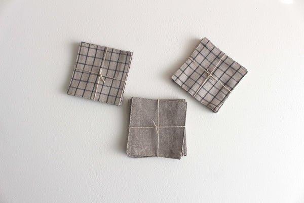 Linen Coasters - Girl and the Abode