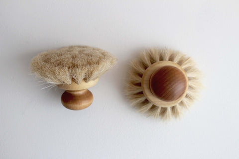 Dish Brush with Round Knob - Girl and the Abode