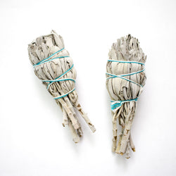 Wild White Sage Smudge Stick - Girl and the Abode