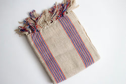 ELLIE LINEN TURKISH THROW - Girl and the Abode