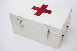 Enamel First Aid Box - Girl and the Abode
