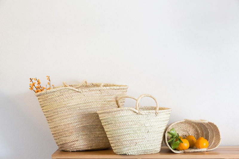 French Market Baskets - Girl and the Abode