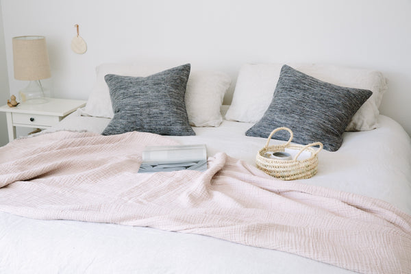 Bed Throw - Girl and the Abode