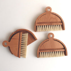Table Brush Set - Girl and the Abode