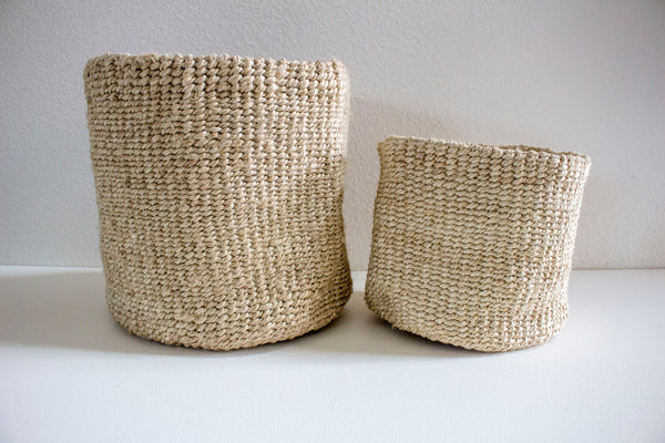 Woven Jute Pots - Girl and the Abode