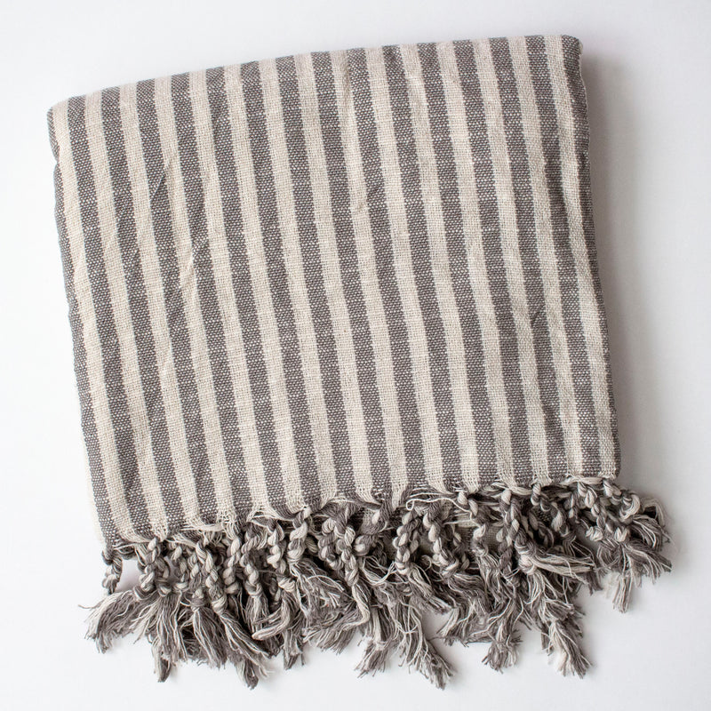 Kupa Linen Turkish Throw - Girl and the Abode