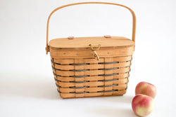 Individual Picnic Basket - Black - Girl and the Abode