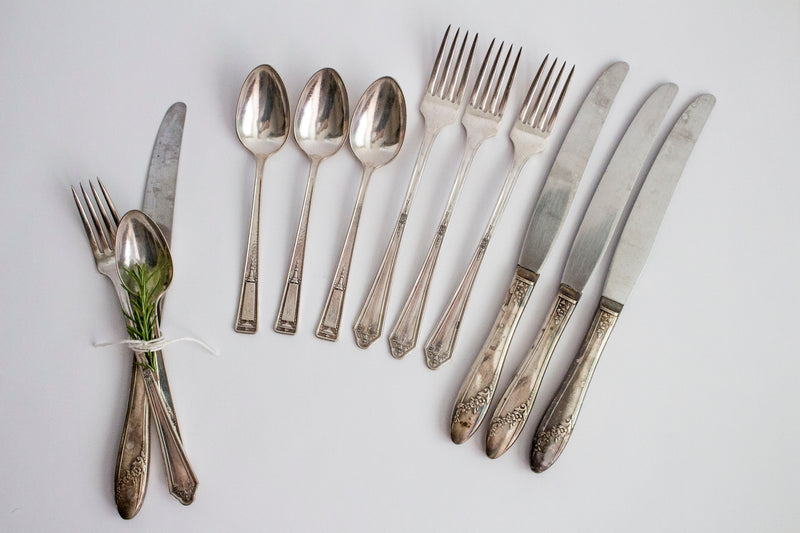 Vintage Flatware - Girl and the Abode