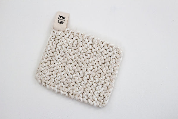 Knitted Swedish Pot Holder - Girl and the Abode