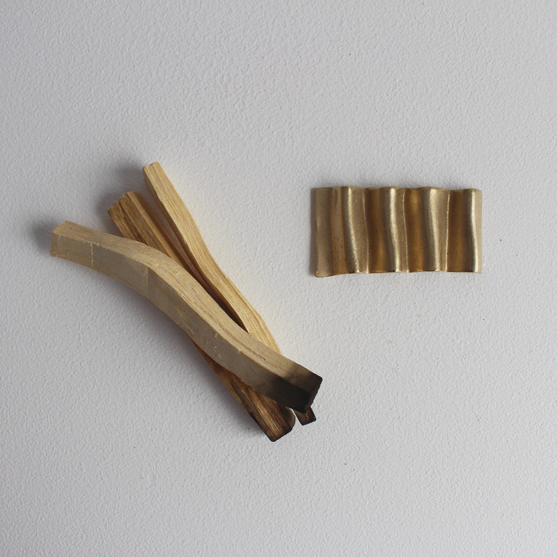 Wavy Palo Santo /  Sage Stick Holder - Girl and the Abode