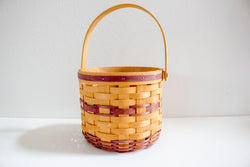 Open Round Picnic Basket - Girl and the Abode