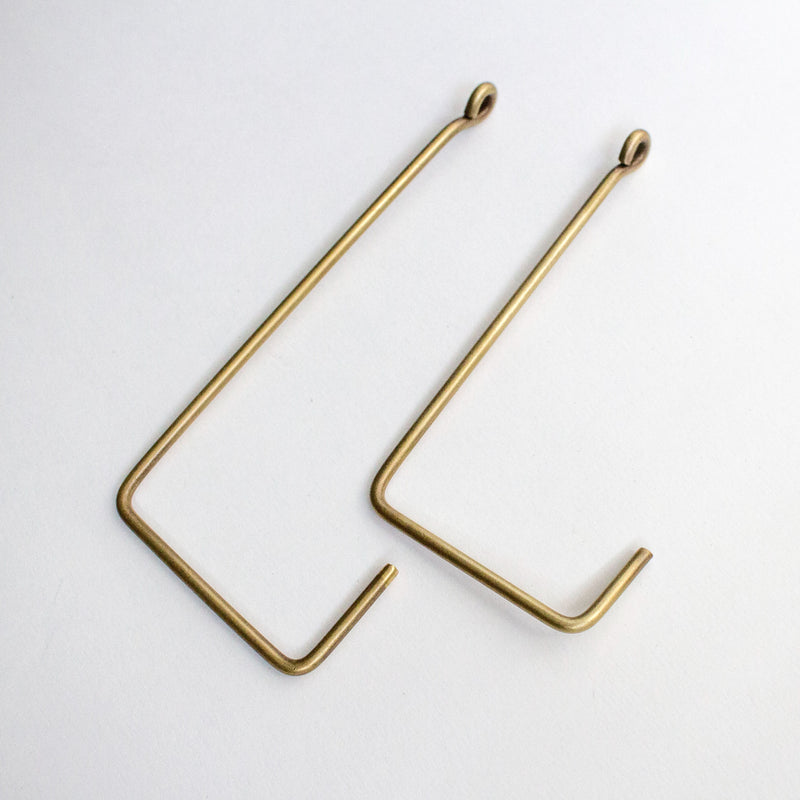 BRASS SINGLE HOOK