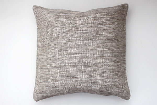 Hand Woven Linen Pillow | Lace - Girl and the Abode