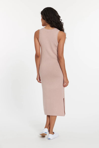 Dusty Rose Atacama Cashmere Tank Dress, var-23484942057530,var-23484942090298,var-23484942123066,var-23484942155834,var-23484942188602