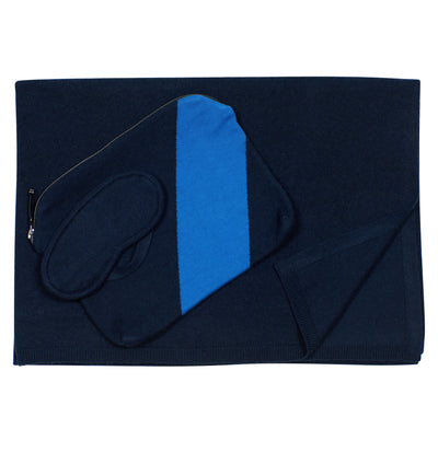 Navy Cashmere Travel Set, var-22418947309626