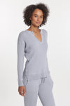 Light Grey Cashmere Cabo Top, var-31007761334330,var-31007761367098,var-31007761399866,var-31007761432634,var-31007761465402