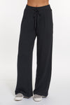 Black Heather Cashmere Tribeca Wide Leg Pant, var-31337762095162,var-31337762127930,var-31337762160698,var-31337762226234,var-31337762259002