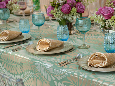 Table Setting With Napkins