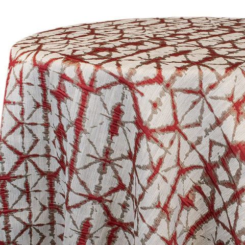 Shibori Hex Red