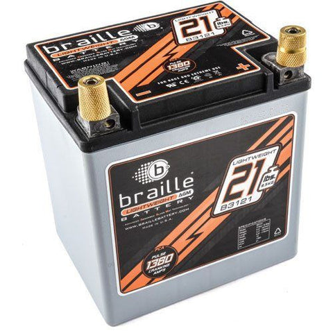 Braille B3121 AGM Battery