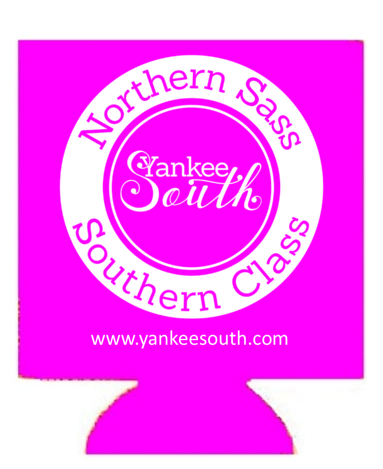 Yankee South Pink Koozie