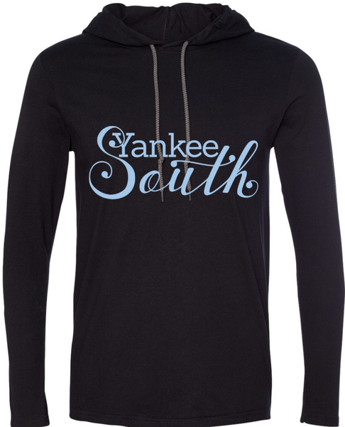 Yankee South Black Lightweight Hoodie - Yankee South