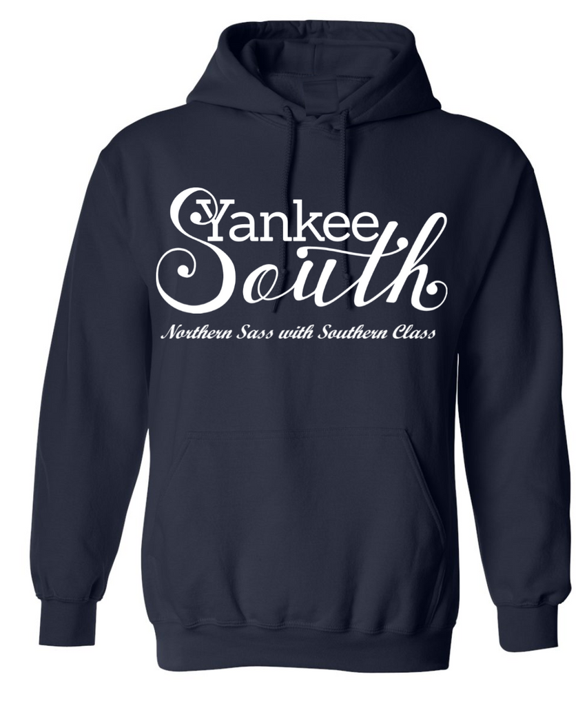 Yankee South Signature Navy Hoodie - Yankee South