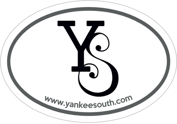 YS Oval Sticker - Yankee South