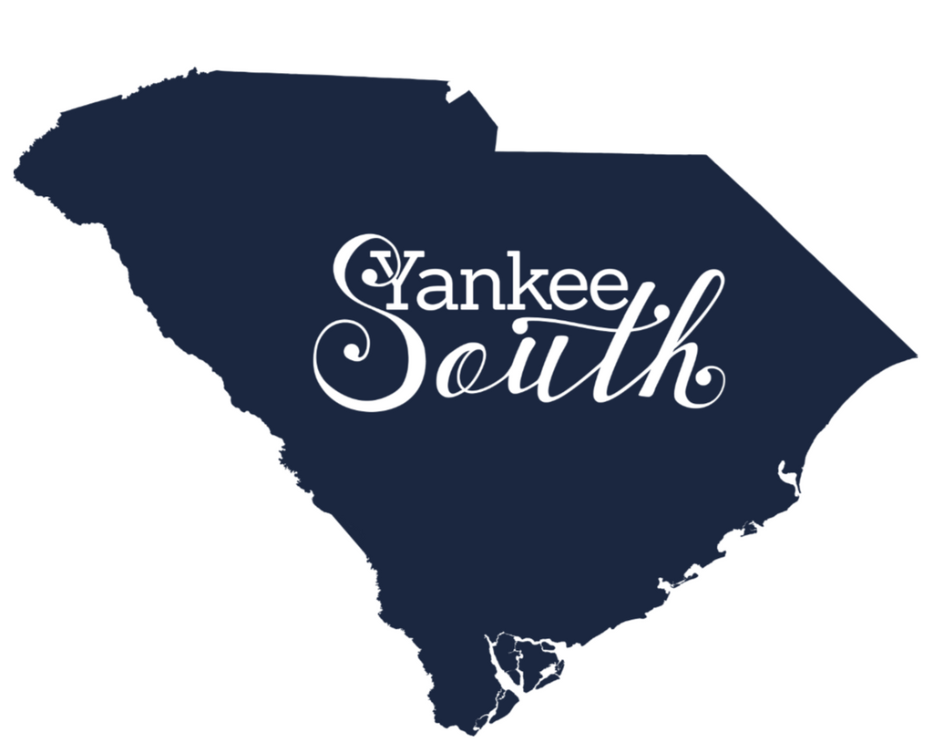 Yankee South South Carolina Decal - Yankee South