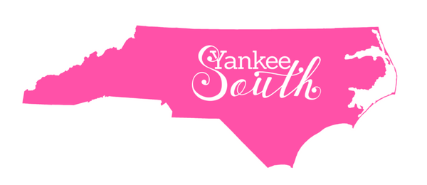 Yankee South North Carolina Decal