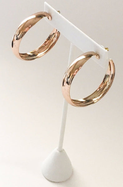 Yankee South Rose Gold Hoops