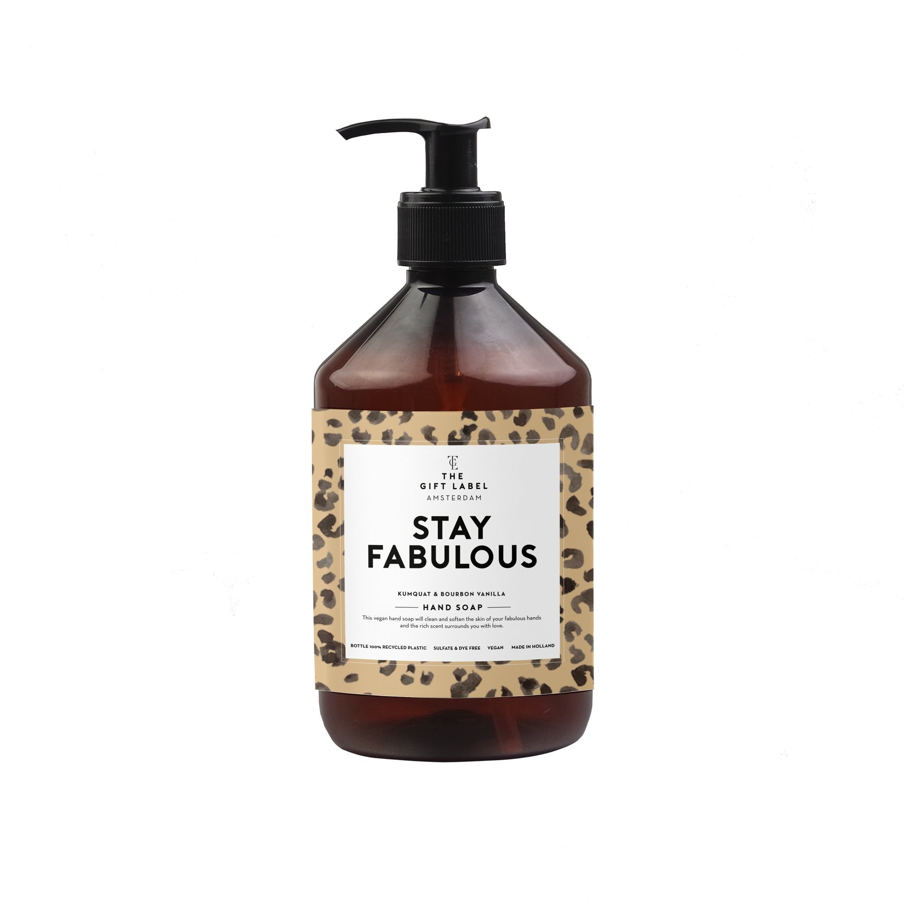 The Gift Label - Hand wash 'Stay Fabulous'