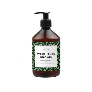 The Gift Label - Hand wash 'Wash Hands, kick ass'