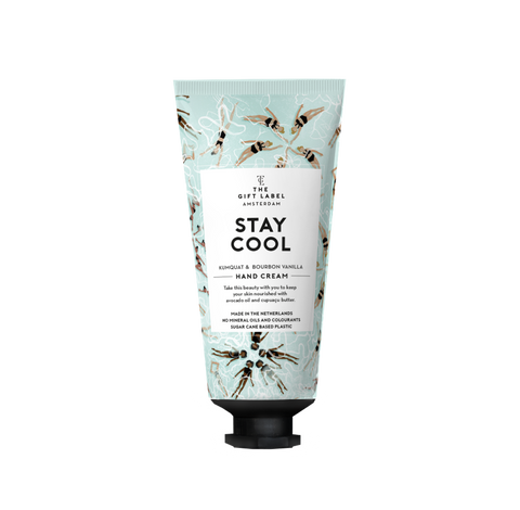 The Gift Label Hand Cream Tube - Stay Cool