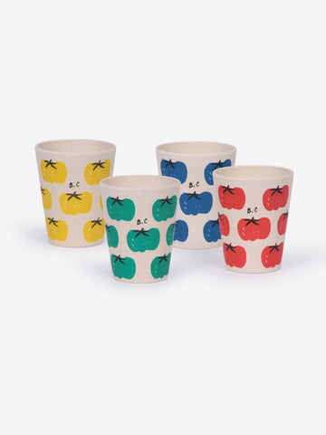 Bobo Choses - Tomatoes bamboo glasses set of 4