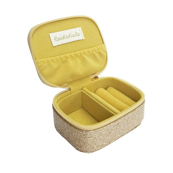 Razzle dazzle mini jewellery box gold