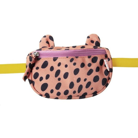 Cheetah Bum Bag Coral